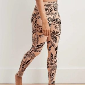 NWOT Aerie Move Tan 7/8 Leggings Size Small